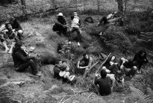 Les participants de la résidence de Neuvic 2010, tombés dans le trou de la Berbeyrolle